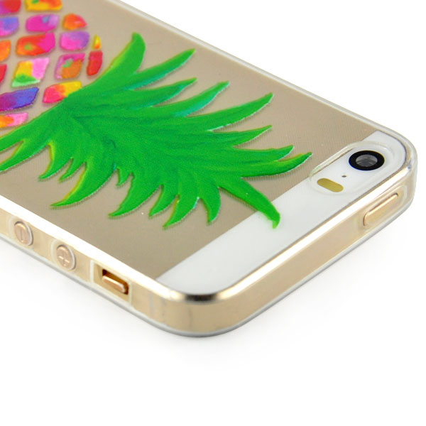 Slicoo iPhone 5 / 5S / SE kryt Pineapple