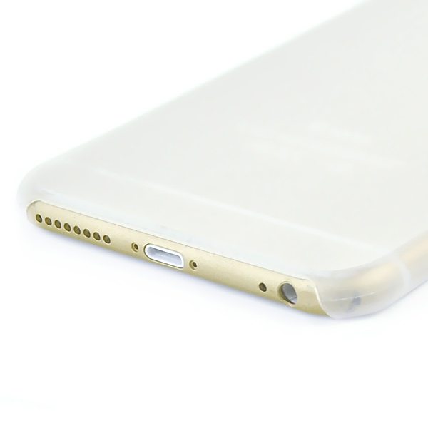 Slicoo iPhone 6 Plus / 6S Plus ultratenký kryt 0.3mm a váha 7g biely
