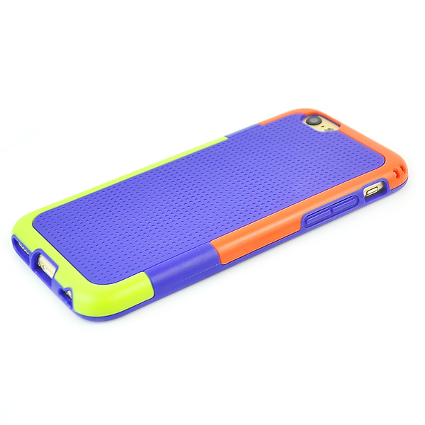 Slicoo iPhone 6 Plus / 6S Plus kryt Three Colors TPU fialový