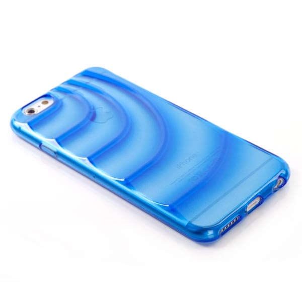 Slicoo iPhone 6 Plus / 6S Plus kryt Water Wave TPU modrý