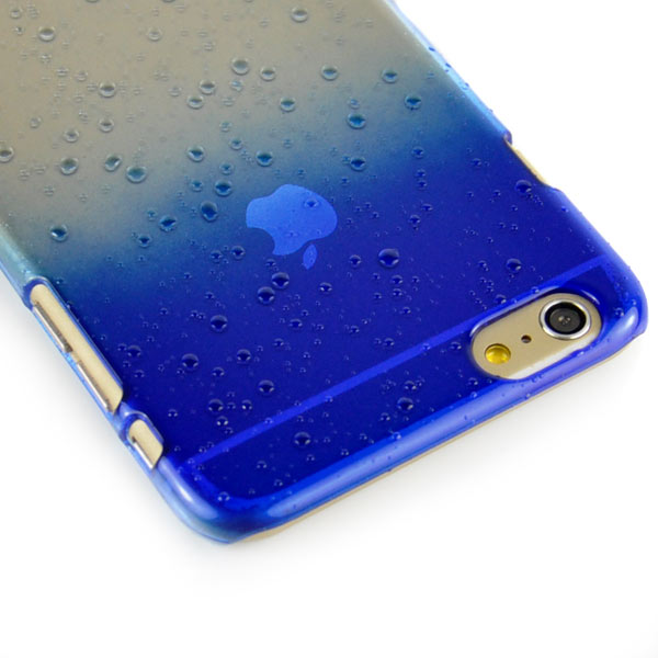 Slicoo iPhone 6 Plus / 6S Plus kryt 3D Water Drops svetlo modrý